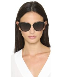Jimmy Choo - Black Dana Sunglasses - Lyst