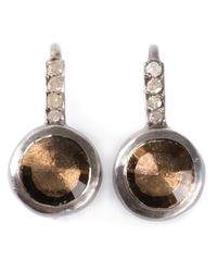 Rosa Maria | Metallic Bobel Earrings | Lyst