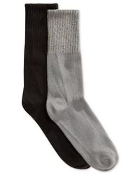 Hue | Black Women's Mini Rugged Two Pack Boot Socks | Lyst