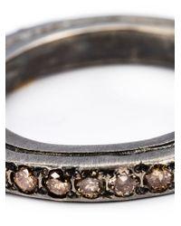 Rosa Maria - Metallic 'ester' Ring - Lyst