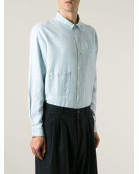 Henrik Vibskov - Blue 'nikolaj' Shirt for Men - Lyst