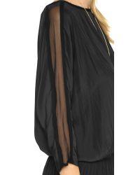 Ramy Brook - Black Susan Dress - Lyst