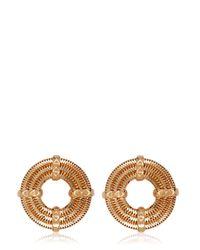 Lara Bohinc Pink Apollo Stud Rose Earrings