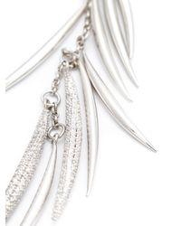 Eddie Borgo | Metallic Pavé 'frond' Necklace | Lyst