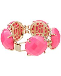 Kendra Scott - Pink Cassie Bracelet - Lyst