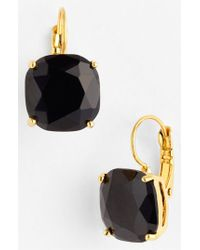 Kate Spade | Black Drop Earrings | Lyst