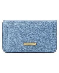 Lodis   Blue Stephanie Under Lock & Key Mini Card Case   Lyst