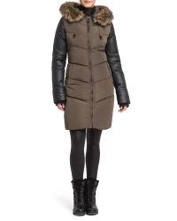 Rud By Rudsak | Brown Ashley Elegant Long Down Coat | Lyst