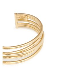 Philippe Audibert - Metallic 'new Africa' Five Line Cuff - Lyst