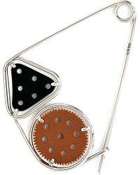 Loewe | Black Meccano Double Pin | Lyst