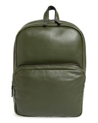 Marc By Marc Jacobs - Green 'classic' Leather Backpack for Men - Lyst