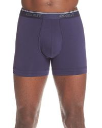 2xist - Blue (x)ist Stretch Boxer Briefs (3-pack) for Men - Lyst