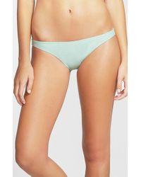Rip Curl - Blue 'love N Surf' Bikini Bottoms - Lyst