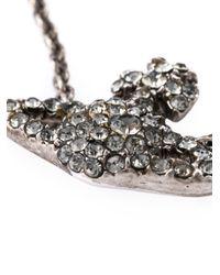 Vivienne Westwood - Metallic Crystal Orbit Bracelet - Lyst