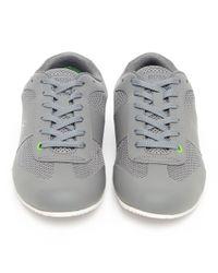 BOSS Green | Gray Light Air Trainers for Men | Lyst