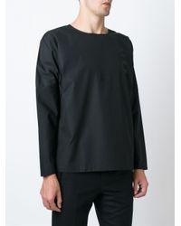 Etudes Studio - Black Boxy Longsleeved T-shirt for Men - Lyst