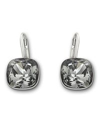 Swarovski | Metallic Sheena Silvernight Crystal Earrings | Lyst