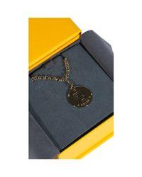 Fendi Metallic Bijoux Long Necklace With Charming 80cm