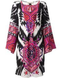 Emilio Pucci - Black Suzani Print Dress - Lyst