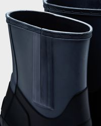 HUNTER - Black Women's Original Contrast Vamp High Heel Boots - Lyst