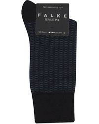 Falke | Blue Sensitive Wool Socks, Men's, Dark Navy for Men | Lyst