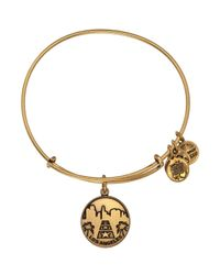 ALEX AND ANI | Metallic Los Angeles Ii Expandable Wire Bangle | Lyst