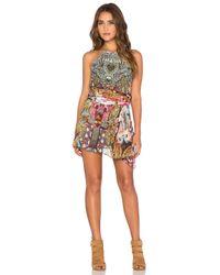 Camilla - Multicolor Sheer Overlay Dress - Lyst