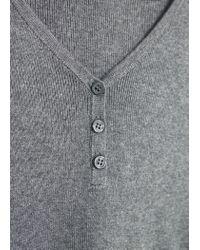 Mango - Black Two-tone Cotton Dress - Lyst