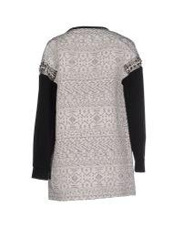 Pinko - Black Full-length Jacket - Lyst