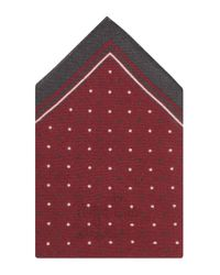BOSS Red 'pocket Square 33 X 33' | Wool Printed Pocket Square for men