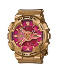 G-Shock | Metallic G-shock 'accent S-series' Resin Ana-digi Watch | Lyst