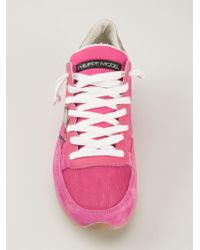 Philippe Model Pink Trainers