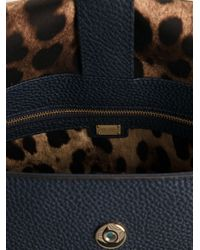 Dolce & Gabbana Blue Medium Sicily Bag