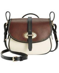 Dooney & Bourke White Verona Cristina Crossbody Bag
