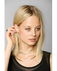 Urban Outfitters - Metallic Aoko Su Neck Cuff Necklace - Lyst