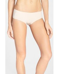 Halogen | Natural Seamless Hipster Panties | Lyst