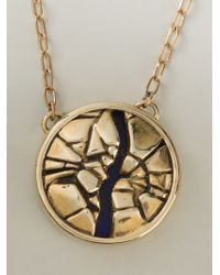 Pamela Love | Metallic 'titan Medallion' Necklace | Lyst