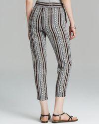 Ella Moss - Multicolor Pants Bondi Printed - Lyst