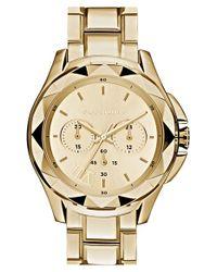 Karl Lagerfeld - Metallic 'karl 7' Chronograph Bracelet Watch - Lyst