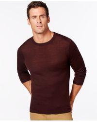 Michael Kors | Purple Merino Gray-tipped Sweater for Men | Lyst
