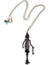 Servane Gaxotte | Metallic Chick Pendant Necklace | Lyst