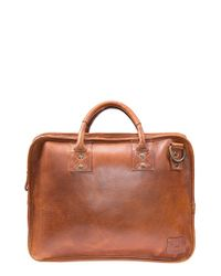 Will Leather Goods - Brown 'hank' Satchel for Men - Lyst