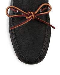 Cole Haan - Black Grant Canoe Camp Moccasins - Lyst