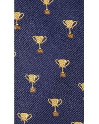 Jack Spade - Blue Trophy Tie for Men - Lyst