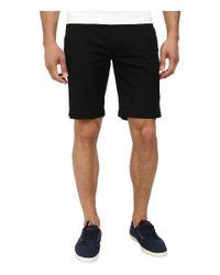 Lacoste | Black Slim Fit Bermuda Short for Men | Lyst