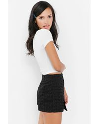Truly Madly Deeply - White Layer Cake Cropped Tee - Lyst