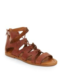 Lucky Brand - Brown Centiee Gladiator Sandals - Lyst