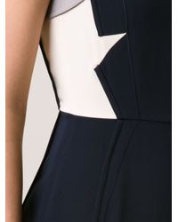 O'2nd - Blue Patched Strap Dress - Lyst