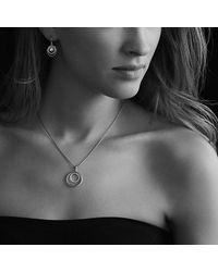 David Yurman | Metallic Small Pave Diamond Mobile Necklace | Lyst