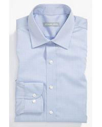 Michael Kors - Blue Regular Fit Non-iron Dress Shirt for Men - Lyst